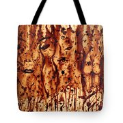 Subtle Atraction Coffee Painting Tote Bag