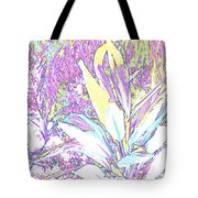 Subtle Leaf Tote Bag