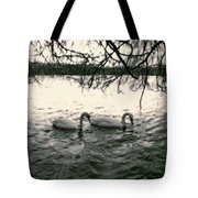 Subtle Swans  Tote Bag