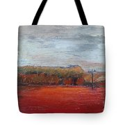 Suburb In October Tote Bag