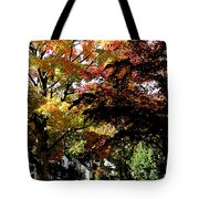 Suburban Autumn Tote Bag