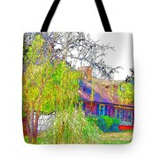 Suburban Home 3 Tote Bag