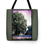 Suburban Tree Tote Bag