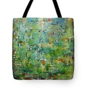 Suburbia Tote Bag by Chaline Ouellet