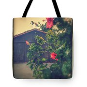 Suburbs Exotic Flowers  Tote Bag