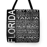 Subway Florida State 3 Square Tote Bag