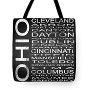 Subway Ohio State Square Tote Bag