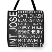 Subway Saint Joseph Barbados 1 Tote Bag