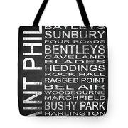 Subway Saint Philip Barbados 1 Tote Bag