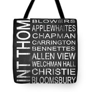 Subway Saint Thomas Barbados 1 Tote Bag