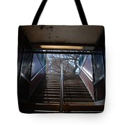 Subway Stairs To Freedom Tote Bag