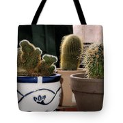 Succulent Backlight Tote Bag