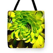Succulent Close Up Tote Bag