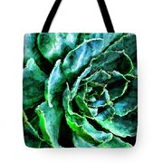 succulents Rutgers University Gardens Tote Bag