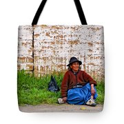 Such A Long Journey II Tote Bag