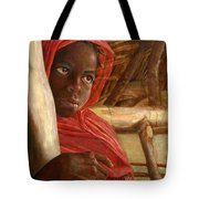 Sudanese Girl Tote Bag