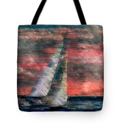 Sudden Squall Tote Bag