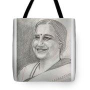 Sudha Murthy A Philanthropist  Tote Bag
