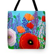 Sue's Flower Bed Tote Bag