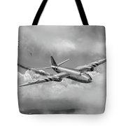 Suez Canberra Pr7 Shoot Down Bw Version Tote Bag