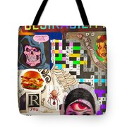 Suffering Through Desirability Tote Bag