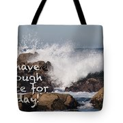 Sufficient Grace - Text Full Tote Bag