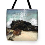 Sugar Beach Splash Tote Bag