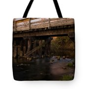Sugar River Trestle Wisconsin Tote Bag