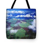 Sugarcane Fields In Central Maui Tote Bag