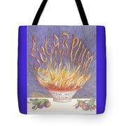 Sugarplum Fire Tote Bag