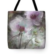 Suggestion Of An Orchid Tote Bag