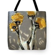 Suggestion Of Orange Flowers  Tote Bag