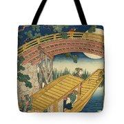 Suihiro Bridge In Moonlight Tote Bag
