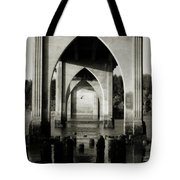 Suislaw River Bridge In Florence Oregon Tote Bag