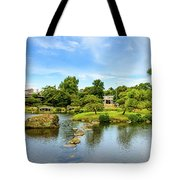 Suizenji Pond 2 Tote Bag