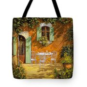 Sul Patio Tote Bag by Guido Borelli