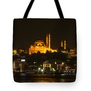 Suleymaniye At Night Tote Bag