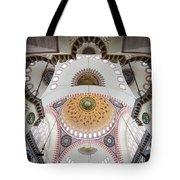 Suleymaniye Mosque Ceiling Tote Bag