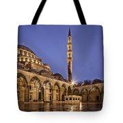 Suleymaniye Mosque Tote Bag