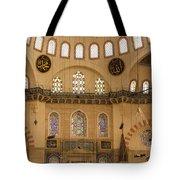 Suleymaniye Mosque Interior Tote Bag