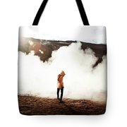 Sulfur Clouds Tote Bag