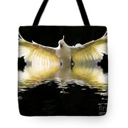 Sulphur Crested Cockatoo Rising Tote Bag