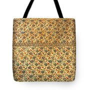 Sultan Ahmed Mosque Tiles Tote Bag