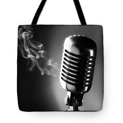 Sultry Black And White Tote Bag