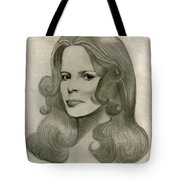 Sultry Smile Tote Bag