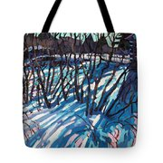 Sumac Snow Shadows Tote Bag