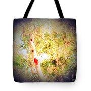 Sumac Tree In The Sunlight Tote Bag