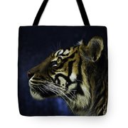 Sumatran Tiger Profile Tote Bag