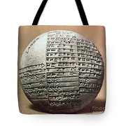 Sumerian Cuneiform Tote Bag