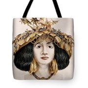 Sumerian Headdress Tote Bag
